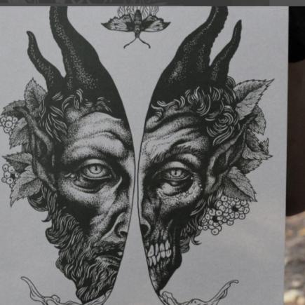 Русский художественный дуэт исследует темы ужаса и мистики